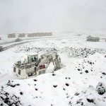 Trabajadores de mina Invierno realizan su primer manifestación