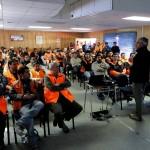 En Potrerillos, Cine Inca, Auditorio 2600, instalaciones de Santa Elvira y Carrocería Portal, se llevaron a cabo las intervenciones. (Foto: Codelco)