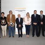 Los ganadores de la segunda versión del Mining Film Fest, en la ceremonia de premiación que se realizó este martes 9 de diciembre en el Centro Cultural Palacio La Moneda. (Fotos: Aprimin)