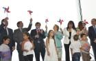 Presidenta Bachelet inauguró central eólica Punta Palmeras
