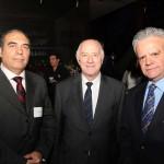 Francisco Sanhueza, Jorge Pedro Gaju y Pedro Pablo Lavín en el encuentro organizado por BBC Chartering. (Foto: Revista NME)