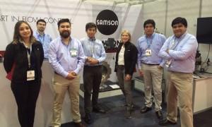 Samson evalúa como positiva su participación en Expomin 2016